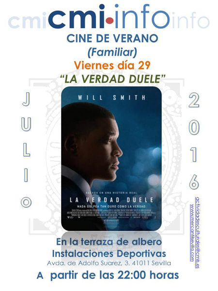 Cine Familiar 29 Julio 2016