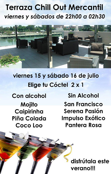 chill out 15 16 julio